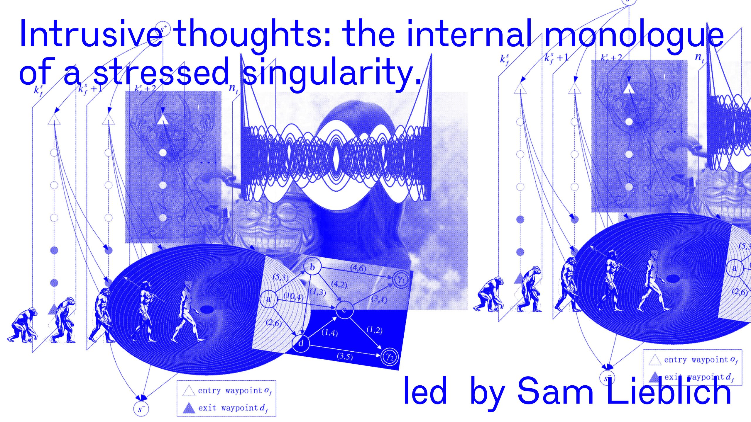 Intrusive thoughts: the internal monologue of a stressed singularity led by Sam Leiblich